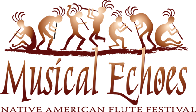 Musical Echoes Native American Flute Festival Logo
