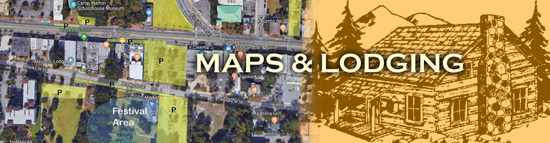 Musical Echoes Maps - Directions - Lodging