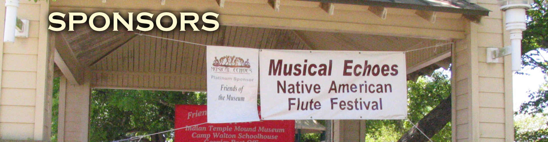 Musical Echoes Sponsors