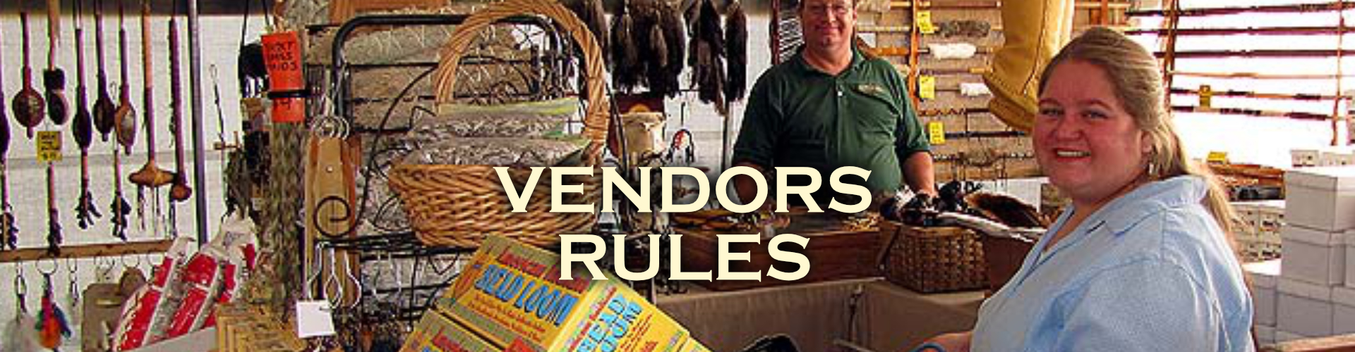 Musical Echoes Vendor Rules